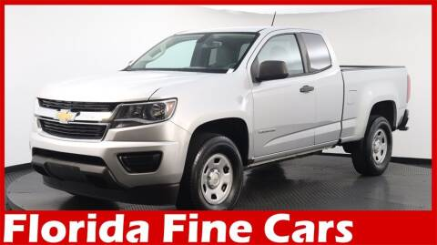 2018 Chevrolet Colorado for sale at Florida Fine Cars - West Palm Beach in West Palm Beach FL
