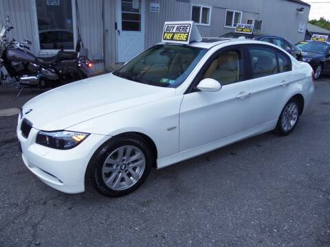 2007 BMW 3 Series for sale at Fulmer Auto Cycle Sales - Fulmer Auto Sales in Easton PA