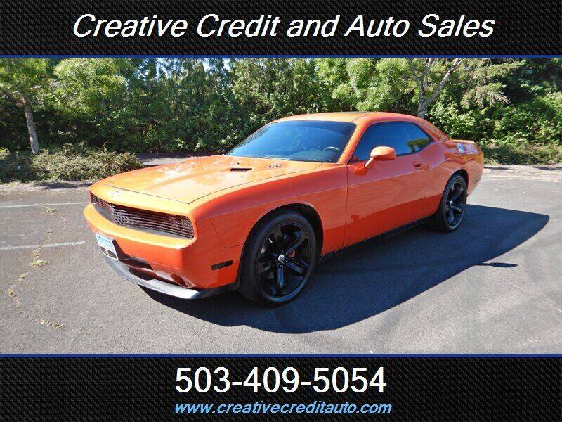 2009 Dodge Challenger for sale at Creative Credit & Auto Sales in Salem OR