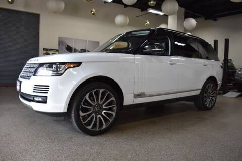 2016 Land Rover Range Rover for sale at DONE DEAL MOTORS in Canton MA