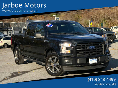 2017 Ford F-150 for sale at Jarboe Motors in Westminster MD