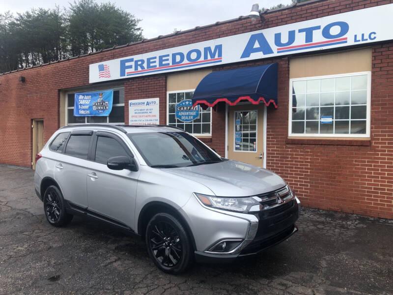 2018 Mitsubishi Outlander for sale at FREEDOM AUTO LLC in Wilkesboro NC