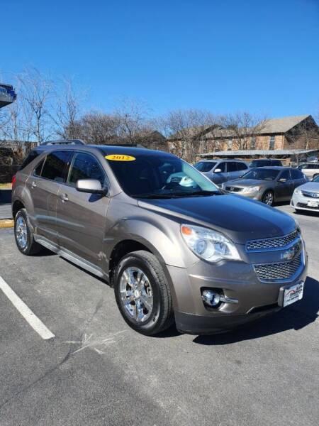2012 Chevrolet Equinox for sale at Auto Solution in San Antonio TX