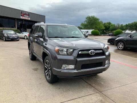 2013 Toyota 4Runner for sale at KIAN MOTORS INC in Plano TX