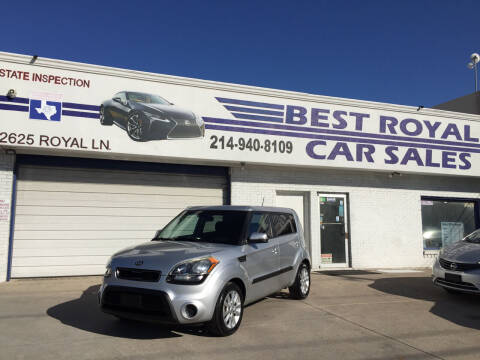 2013 Kia Soul for sale at Best Royal Car Sales in Dallas TX
