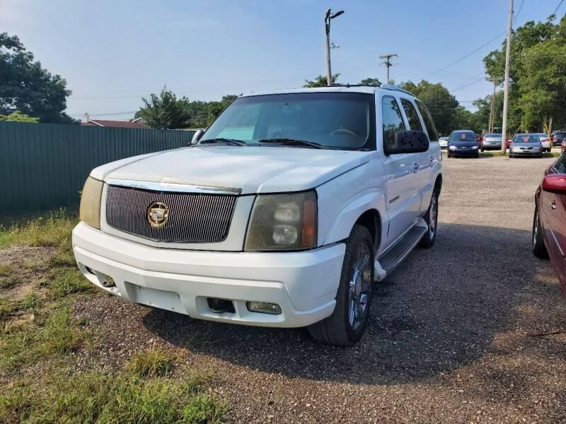 2002 Cadillac Escalade for sale at ASAP AUTO SALES in Muskegon MI