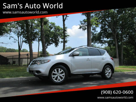 2011 Nissan Murano for sale at Sam's Auto World in Roselle NJ