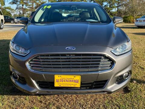 2014 Ford Fusion for sale at DRIVEhereNOW.com in Greenville NC