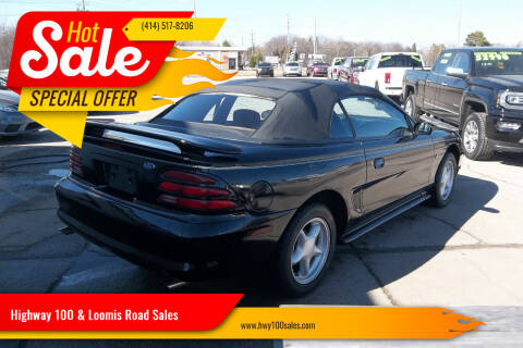 1994 Ford Mustang for sale at Highway 100 & Loomis Road Sales in Franklin WI