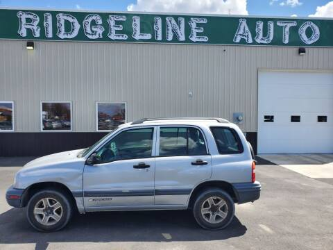 2003 Chevrolet Tracker for sale at RIDGELINE AUTO in Chubbuck ID