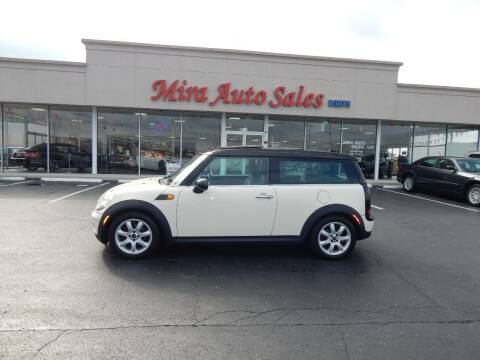 2010 MINI Cooper Clubman for sale at Mira Auto Sales in Dayton OH