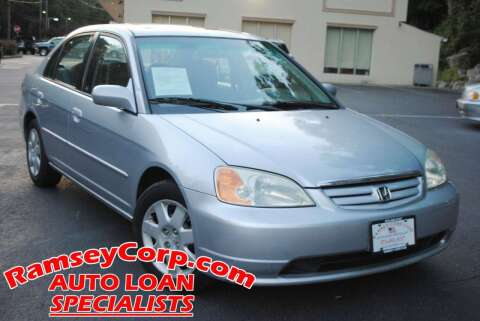 2002 Honda Civic for sale at Ramsey Corp. in West Milford NJ
