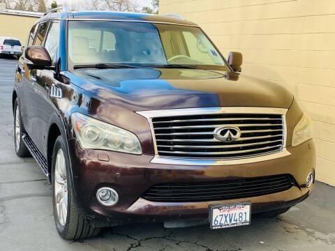 2011 Infiniti QX56 for sale at Auto Zoom 916 Rancho Cordova in Rancho Cordova CA