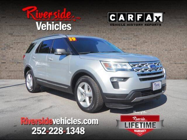 2019 Ford Explorer for sale at Riverside Mitsubishi(New Bern Auto Mart) in New Bern NC