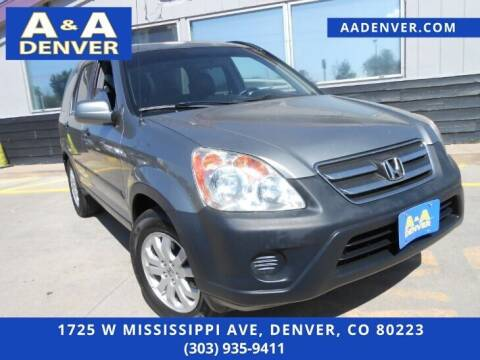 2006 Honda CR-V for sale at A & A AUTO LLC in Denver CO