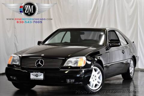1994 Mercedes-Benz S-Class for sale at ZONE MOTORS in Addison IL