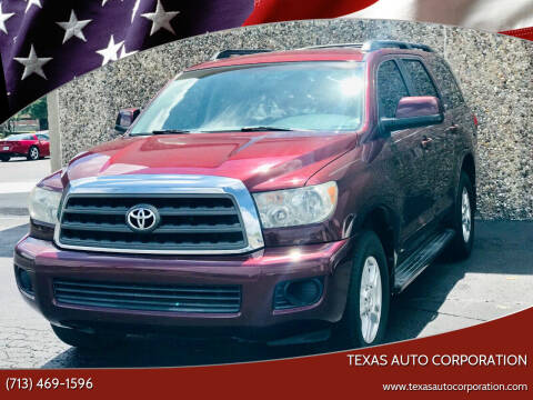 2008 Toyota Sequoia for sale at Texas Auto Corporation in Houston TX