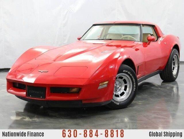 1980 Chevrolet Corvette for sale at MGM CLASSIC CARS in Addison IL