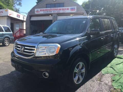 2013 Honda Pilot for sale at Drive Deleon in Yonkers NY