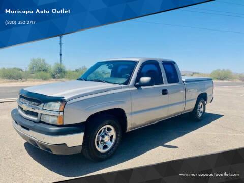 2004 Chevrolet Silverado 1500 for sale at Maricopa Auto Outlet in Maricopa AZ