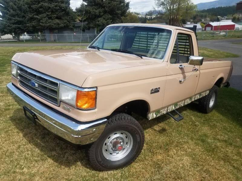 1989 Ford F-150 for sale at J.K. Thomas Motor Cars in Spokane Valley WA