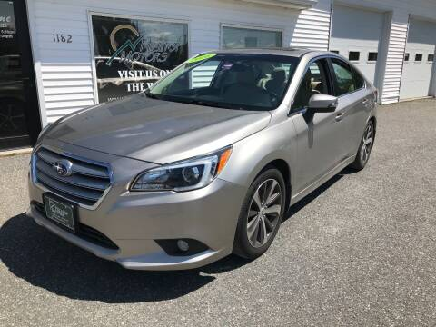 2016 Subaru Legacy for sale at HILLTOP MOTORS INC in Caribou ME