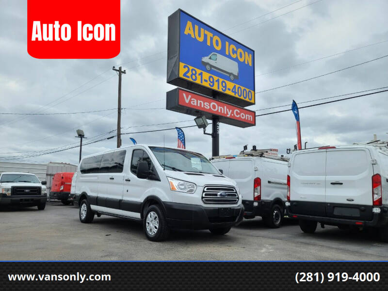 2019 Ford Transit Passenger for sale at Auto Icon in Houston TX