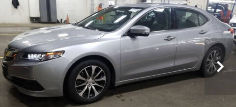 2017 Acura TLX for sale at Trimax Auto Group in Baltimore MD