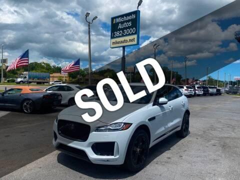 2020 Jaguar F-PACE for sale at Michaels Autos in Orlando FL