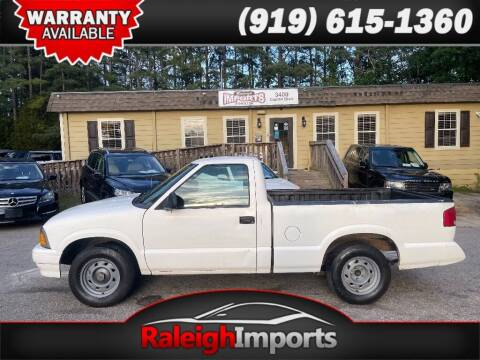 1997 GMC Sonoma for sale at Raleigh Imports in Raleigh NC