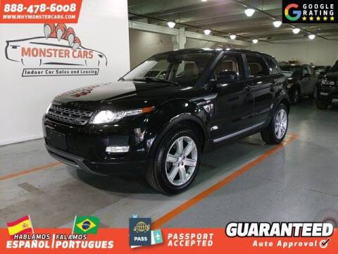 2014 Land Rover Range Rover Evoque for sale at Monster Cars in Pompano Beach FL