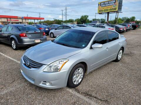 2012 Nissan Altima for sale at 2nd Chance Auto Sales in Montgomery AL