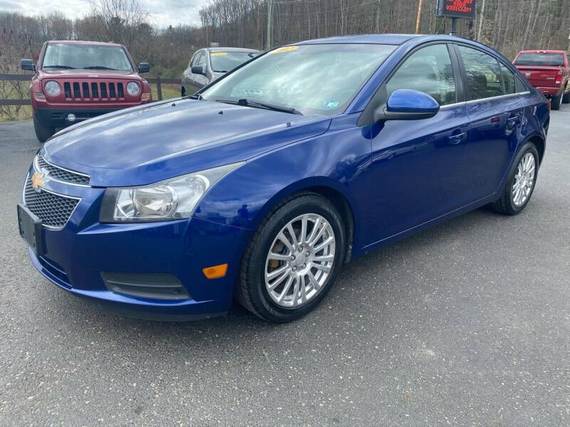 2012 Chevrolet Cruze for sale at Pine Grove Auto Sales LLC in Russell PA