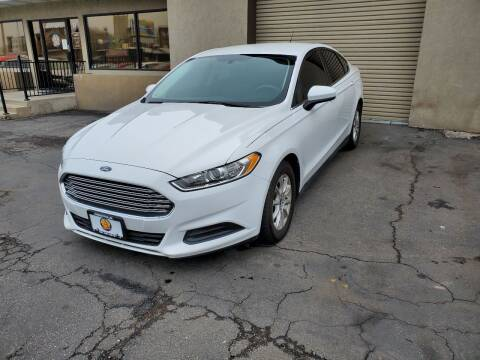 2016 Ford Fusion for sale at Utah Credit Approval Auto Sales in Murray UT