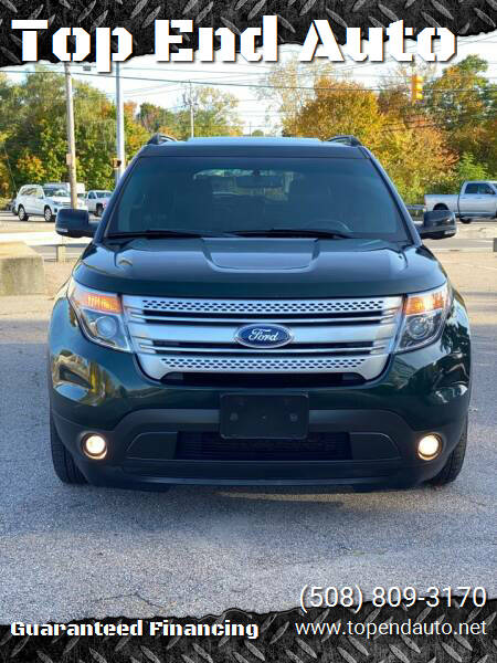 2013 Ford Explorer for sale at Top End Auto in North Atteboro MA