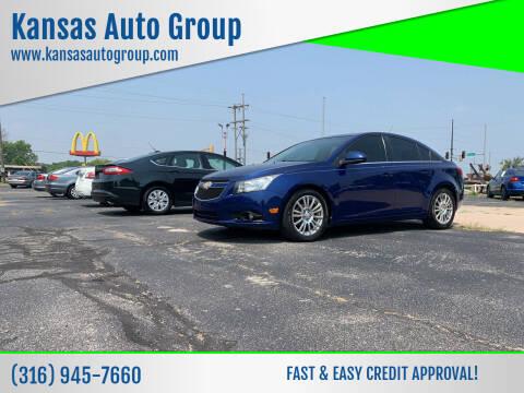 2012 Chevrolet Cruze for sale at Kansas Auto Group in Wichita KS