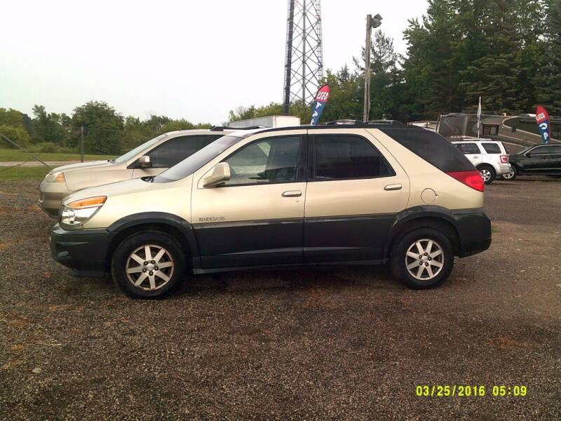2002 Buick Rendezvous for sale at Highway 16 Auto Sales in Ixonia WI