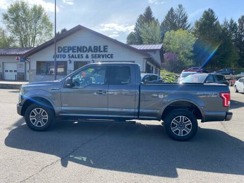 2016 Ford F-150 for sale at Dependable Auto Sales and Service in Binghamton NY