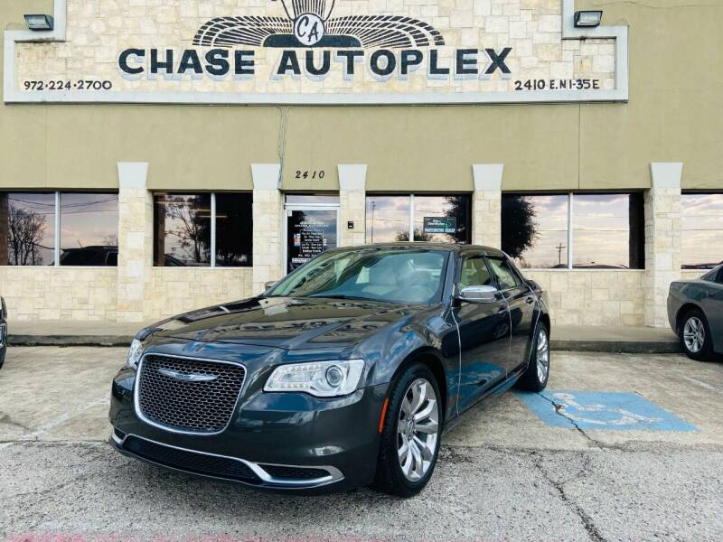 2018 Chrysler 300 for sale at CHASE AUTOPLEX in Lancaster TX