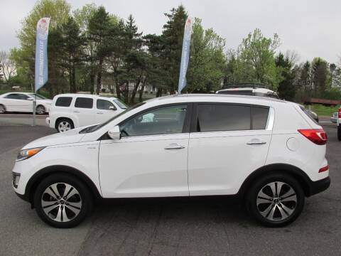 2012 Kia Sportage for sale at GEG Automotive in Gilbertsville PA