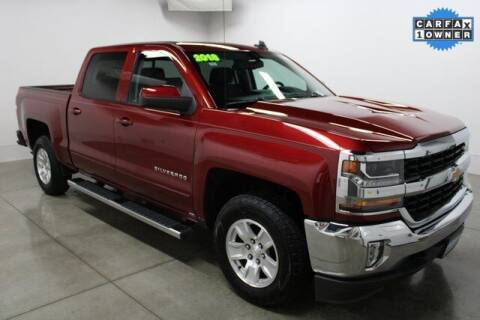 2018 Chevrolet Silverado 1500 for sale at Bob Clapper Automotive, Inc in Janesville WI