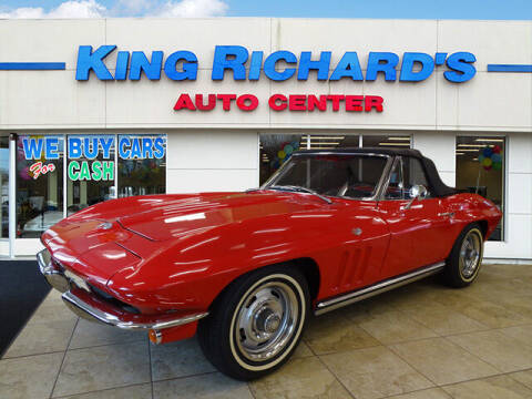 1965 Chevrolet Corvette for sale at KING RICHARDS AUTO CENTER in East Providence RI