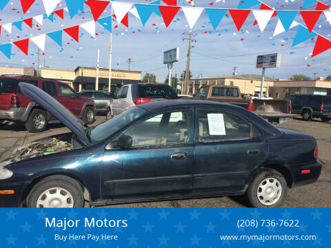 1996 Mazda Protege for sale at Major Motors in Twin Falls ID