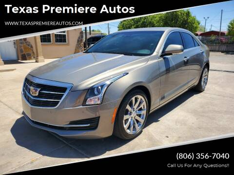 2017 Cadillac ATS for sale at Texas Premiere Autos in Amarillo TX