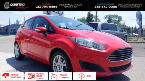 2014 Ford Fiesta for sale at Quattro Motors 2 in Farmington Hills MI