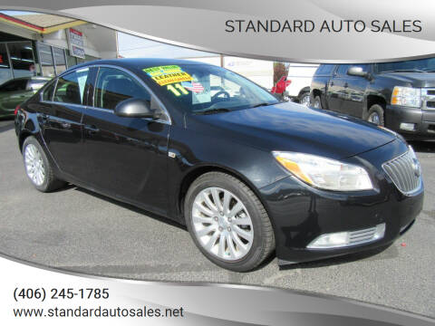 2011 Buick Regal for sale at Standard Auto Sales in Billings MT