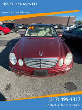 2004 Mercedes-Benz E-Class for sale at Choice One Auto LLC in Beech Grove IN