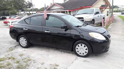 2013 Nissan Versa for sale at DAVINA AUTO SALES in Casselberry FL