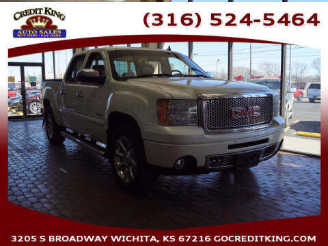 2010 GMC Sierra 1500 for sale at Credit King Auto Sales in Wichita KS