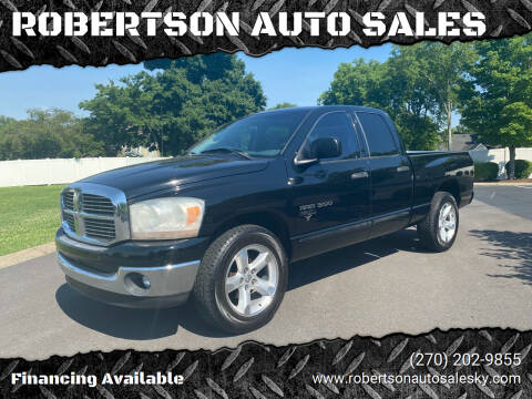 2006 Dodge Ram Pickup 1500 for sale at ROBERTSON AUTO SALES in Bowling Green KY